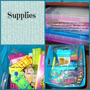 supplies collage 2 with title