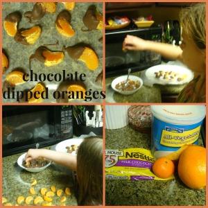 chocolate dipped oranges