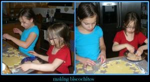 making biscochitos