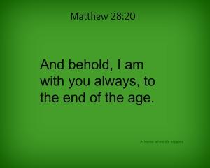 Matthew 2820