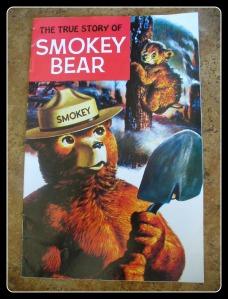 Smokey Bear framed