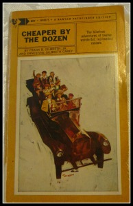 Cheaper by the Dozen framed
