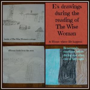 E's drawings
