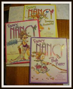 J - Fancy Nancy