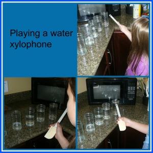 water xylophone