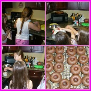 D girls working
