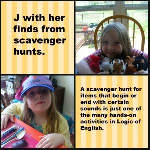 scavenger hunt finds
