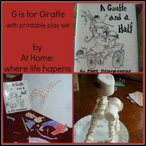 G - giraffe title picture