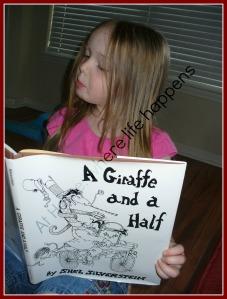 G - J reading book