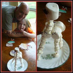G - marshmallow giraffe