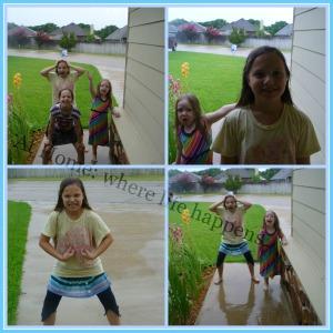 I - girls in the rain