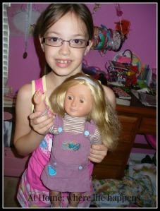 Doll dress repair