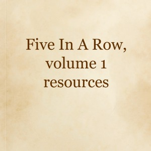 Five In A Row resources