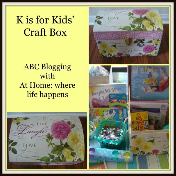 K - Kids' Craft Box