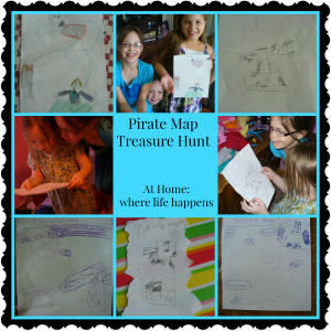 Pirate Map Treasure hunt