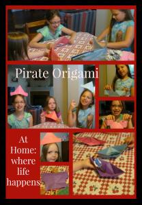 Pirate origami