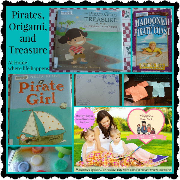 Pirates Origami and treasure