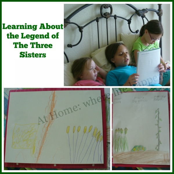 Three Sisters with overlay