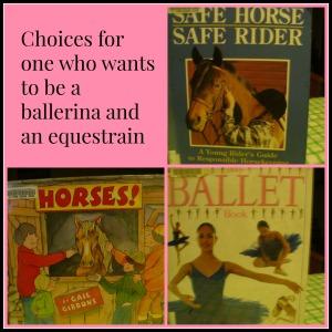 ballerina equestrian