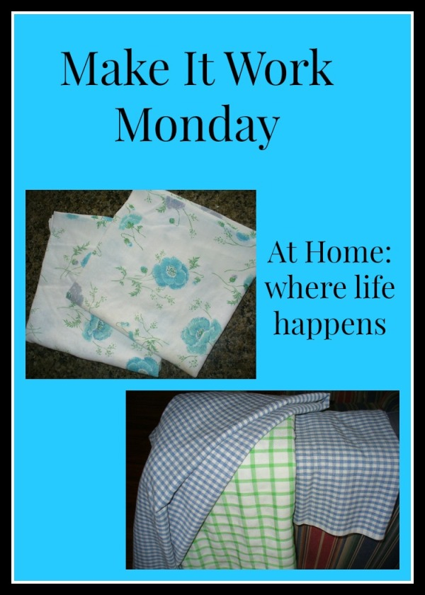 dish towels and table cloths