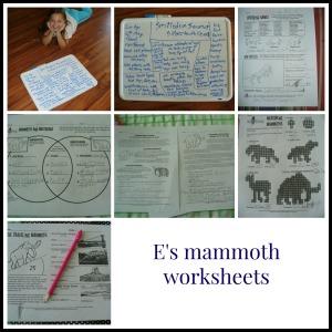 mammoths E