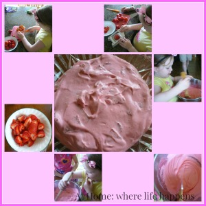 Princess Pudding in the making
