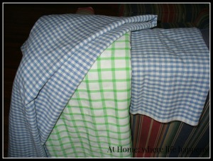 three table cloths