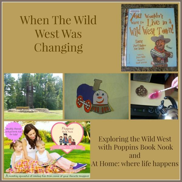 Wild West collage