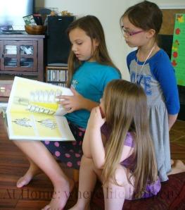 Madeline reading