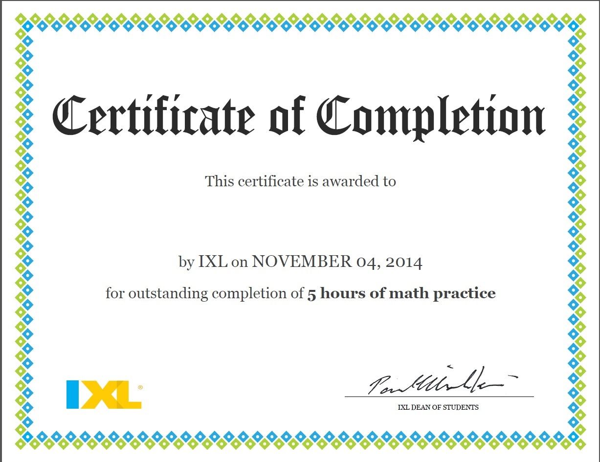 A Review: IXL | At Home