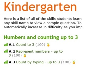 Kinder completion example