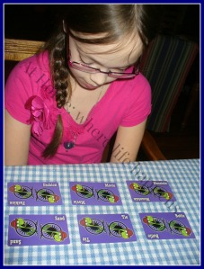 L studying cards