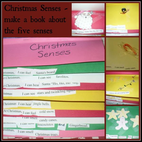 H Christmas senses book