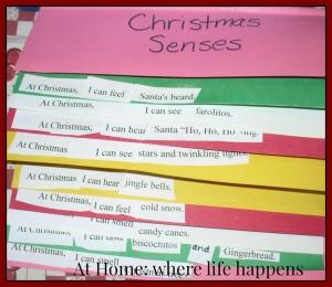 H Christmas Senses