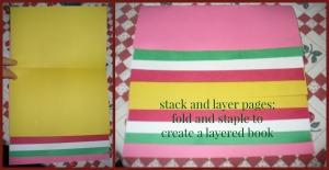 H layered book