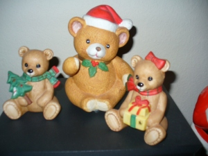 ceramic bears