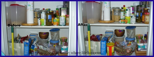 Clean - pantry middle