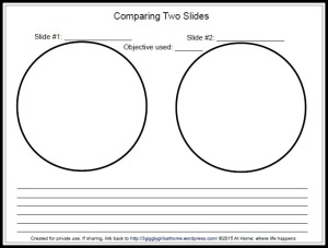 M comparing two slides 2