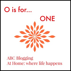 O is for one