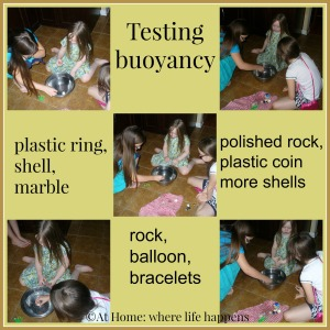 Ping buoyancy