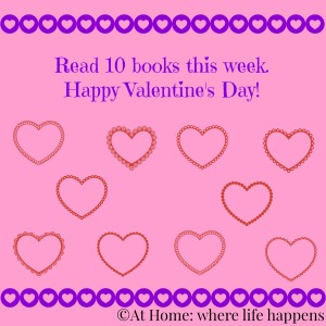 Valentine's book chart