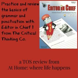 Editor In Chief I