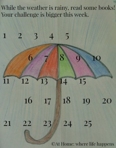 Umbrella Book Log