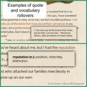 quote and vocabulary