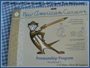 a review of New American Cursive from At Home: where life happens