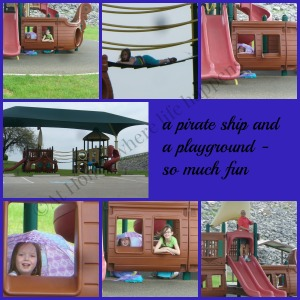 W pirate ship playground