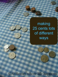 counting 25 cents