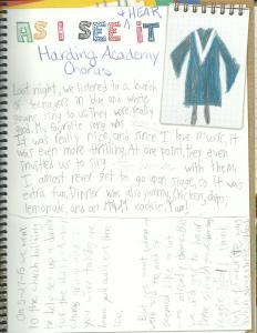 Harding Chorus page