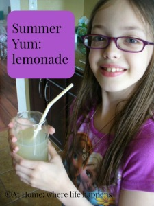 Lemonade summer