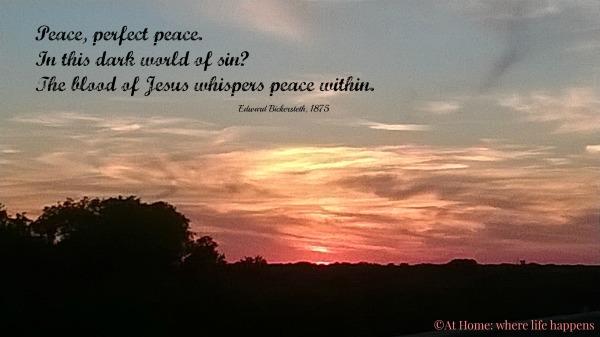 Peace perfect peace
